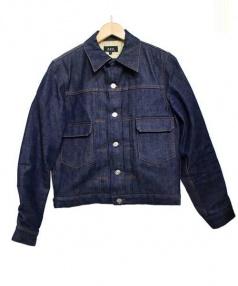 A.P.C.(アーペーセー)の古着「裏地ニットデニムジャケット」|インディゴ