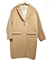 ROPE(ロペ)の古着「コクーンチェスターコート」|ベージュ