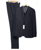ABAHOUSE ecru(アバハウス エクリュ)の古着「2Bスーツ」|ブラック