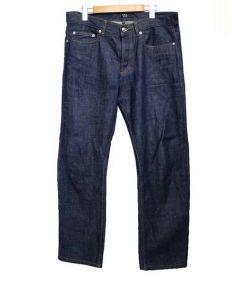 A.P.C.(アーペーセー)の古着「デニムパンツ RESUCUE JEAN DROIT」|ブルー