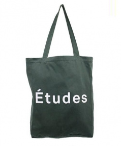Etudes Studio(エチュードスタジオ)の古着「ロゴトートバッグ」|オリーブ