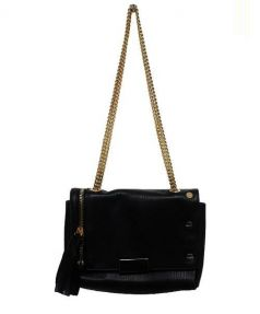 MUSER(ミュザー)の古着「チェーンショルダーバッグ」|ブラック
