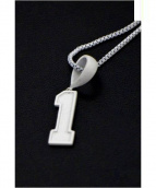 "PHENOMENON(フェノメノン)の古着「ネックレス NUMBER NECKLESS""1""」"