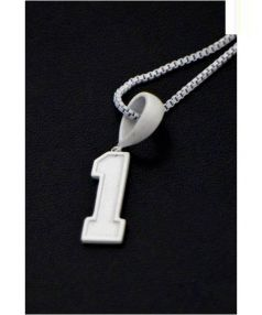 """PHENOMENON(フェノメノン)の古着「ネックレス NUMBER NECKLESS""""1""""」"""