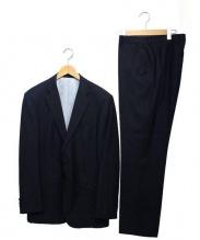 Paul Smith London(ポールスミスロンドン)の古着「2Bストライプスーツ」|ブラック