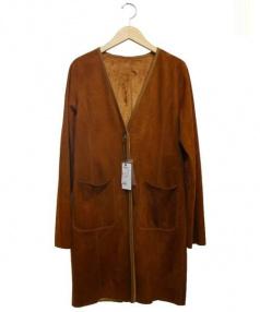 VICKY(ビッキー)の古着「スウェードボアリバーシブルコート」|ブラウン