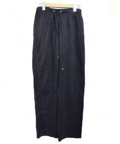 LOUIS VUITTON(ルイ・ヴィトン)の古着「サイドラインスウェットパンツ」|チャコールグレー