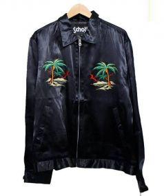 Schott(ショット)の古着「スーベニアジャケット スカジャン」 ブラック