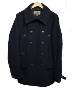 NIGEL CABOURN(ナイジェルケーボン)の古着「ミリタリーPコート」|ブラック