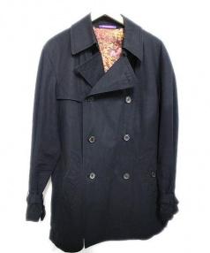 Paul Smith COLLECTION(ポールスミスコレクション)の古着「トレンチコート」|ブラック