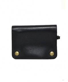 ARTS&CRAFTS(アーツアンドクラフツ)の古着「レザーウォレット 財布」 ブラック