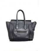 CELINE(セリーヌ)の古着「ラゲージマイクロショッパー バッグ」|グレー