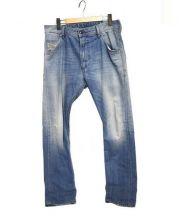DIESEL(ディーゼル)の古着「KROOLEY デニムパンツ」|ライトブルー