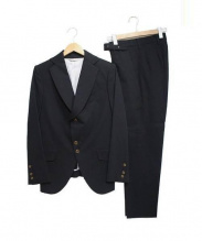Vivienne Westwood man(ヴィヴィアンウエストウッドマン)の古着「セットアップスーツ」|ブラック