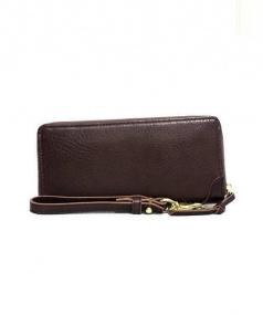 SLOW(スロウ)の古着「ラウンドファスナー財布」 ブラウン