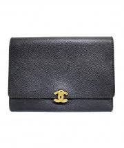CHANEL(シャネル)の古着「3つ折り財布」