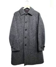 ETONNE(エトネ)の古着「ウールステンカラーコート」|グレー