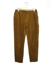 GALERIE VIE(ギャルリー・ヴィー)の古着「コーデュロイパンツ」 ブラウン