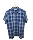 WACKO MARIA(ワコマリア)の古着「オープンカラーシャツ」 ブルー