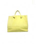 REN(レン)の古着「トワル・デイショッパー バッグ」|イエロー