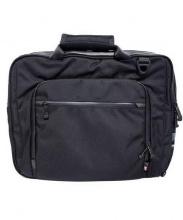 DATUM(デイタム)の古着「2WAYブリーフケース バッグ」|ブラック×ブルー