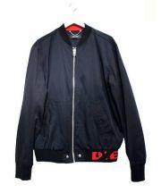 DIESEL(ディーゼル)の古着「J-GATE ジャケット」|ブラック×レッド