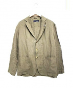 LARDINI(ラルディーニ)の古着「リネンジャケット」|ブラウン