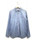 eYe COMME des GARCONS JUNYAWATANABE MAN(アイ コムデギャルソン ジュンヤワタナベマン)の古着「シャンブレーシャツ」 ブルー