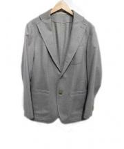 Takizawa Shigeru(タキザワ シゲル)の古着「カシミヤジャケット」|グレー