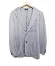 Belvest(ベルベスト)の古着「アンコンジャケット」|ブルー