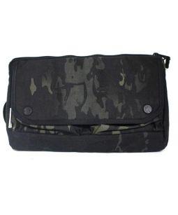 DSPTCH(ディスピッチ)の古着「WAIST BAG ボディーバッグ」|ブラック×ベージュ