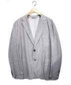 MACKINTOSH(マッキントッシュ)の古着「ジャガードジャージージャケット」 グレー