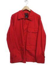 BEAMS(ビームス)の古着「ベンタイルハンティングジャケット」|レッド