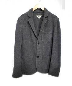 RHC Ron Herman(アールエイチシー ロンハーマン)の古着「ウール混テーラードジャケット」 グレー
