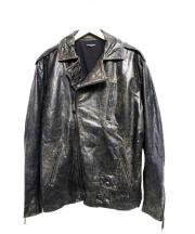 glamb(グラム)の古着「レザージャケット」|ブラウン