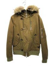 FACTOTUM(ファクトタム)の古着「N-2Bジャケット」 ブラウン