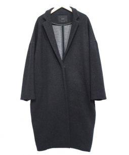 yori(ヨリ)の古着「チェスターコート」|ブラック