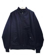 SON OF THE CHEESE(サノバチーズ)の古着「BOTH JKT ジャケット」 キャメル×ネイビー