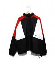NIKE(ナイキ)の古着「ナイロンジャケット」|ホワイト×ブラック