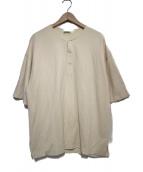 AURALEE(オーラリー)の古着「ヘンリーネックカットソー」