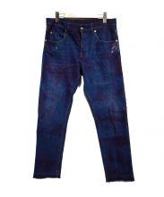 GUCCI(グッチ)の古着「ストーンウォッシュドデニムパンツ」|ブルー