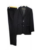 BURBERRY BLACK LABEL(バーバリーブラックレーベル)の古着「ストライプスーツ」|ブラック
