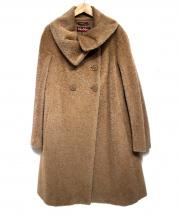 MaxMara(マックスマーラ)の古着「シャギーコート」|ベージュ