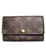 LOUIS VUITTON(ルイ・ヴィトン)の古着「ポルトモネジップ 財布」