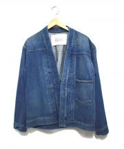 UNITED ARROWS&SONS(ユナイテッドアローズ アンド サンズ)の古着「デニムジャケット」|ブルー