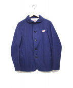 DANTON(ダントン)の古着「コットンキャンバスワークジャケット」