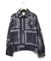 Ron Herman(ロンハーマン)の古着「総ペイズリージップジャケット」|グレー