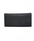 EMPORIO ARMANI(エンポリオアルマーニ)の古着「2つ折り長財布」|ブラック