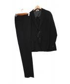 LUCIANO DI MARTINA(ルチアーノ ディ マルティナ)の古着「2Bスーツ」|ブラック