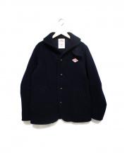 DANTON(ダントン)の古着「ウールモッサシングルジャケット」|ネイビー